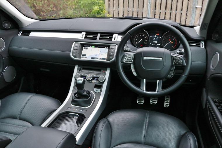 Range Rover Evoque 2016 Interior