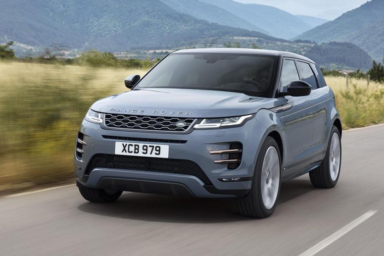 Range Rover Evoque 2019 dynamic