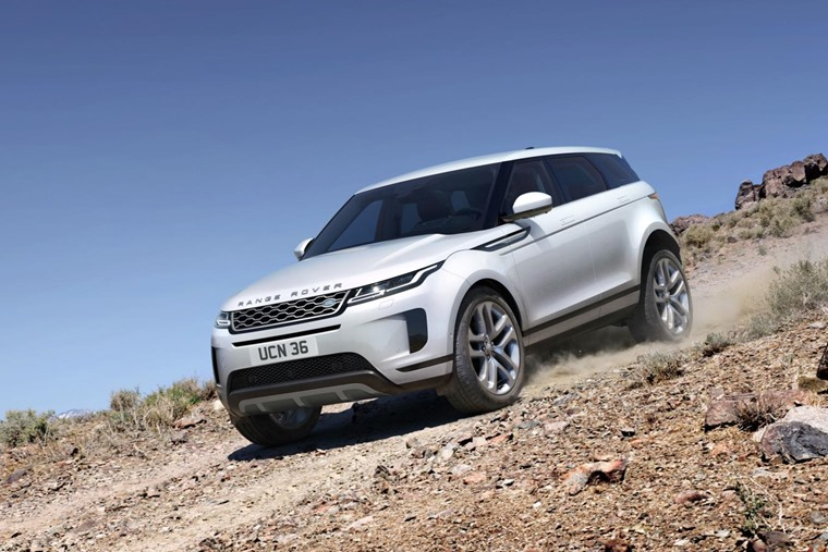 Range Rover Evoque 2019 off road