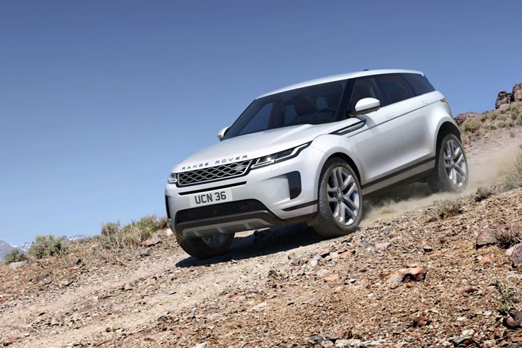 Range Rover Evoque 2019 off road