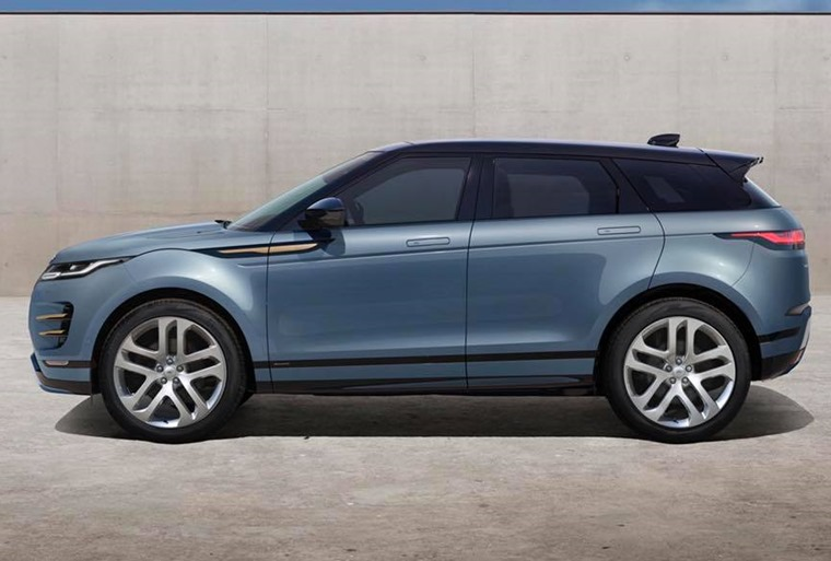 Range Rover Evoque 2019 side
