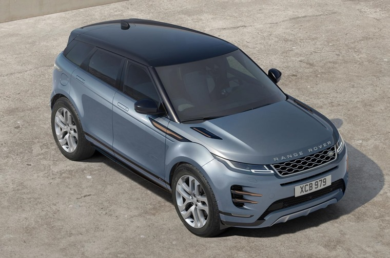 Range Rover Evoque 2019 top