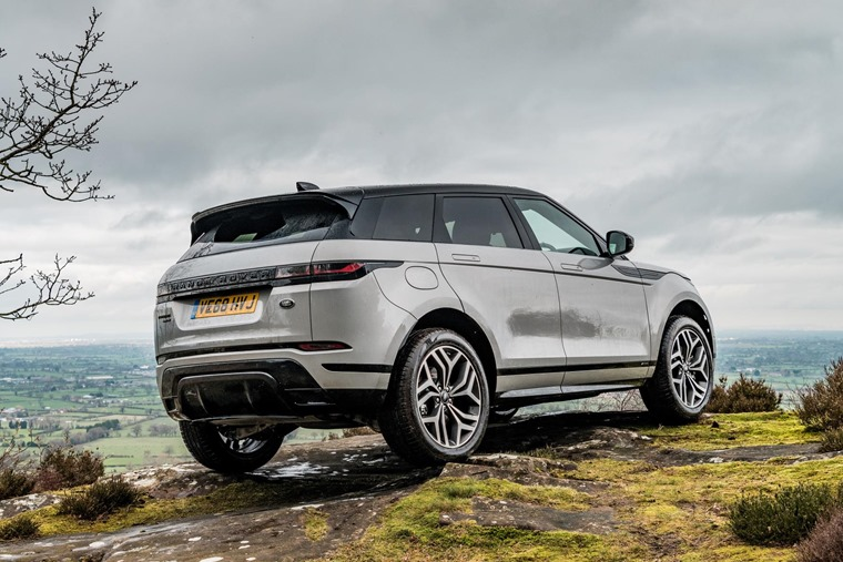 Range Rover Evoque environment