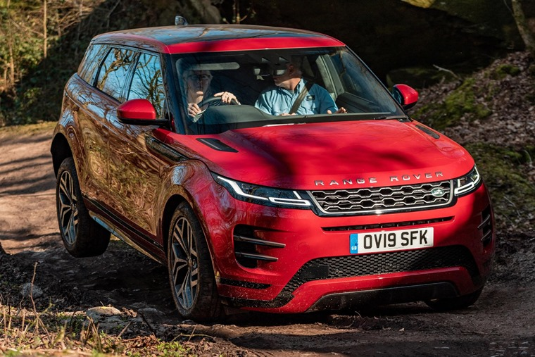 Range Rover Evoque Firenze Red