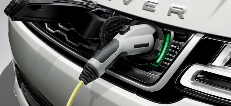 Range Rover Sport PHEV charger