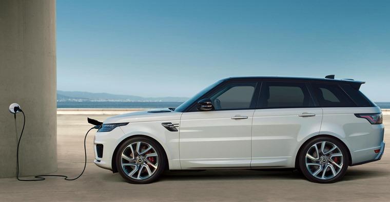 Range Rover Sport PHEV charging