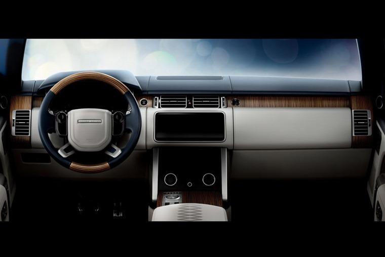 Range Rover SV dashboard