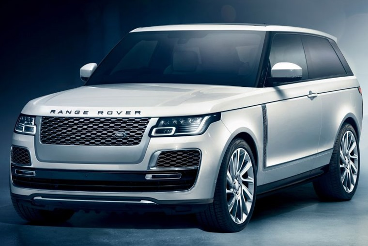 Range Rover SV front