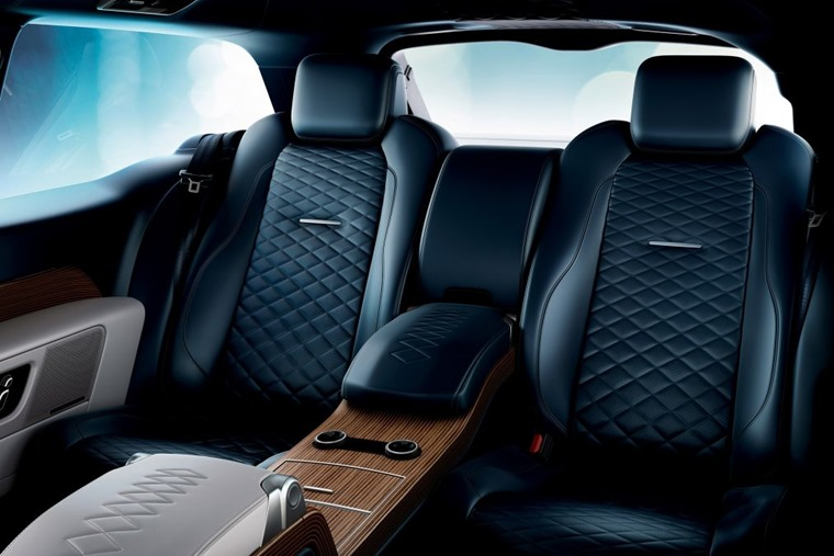 Range Rover SV rear seats