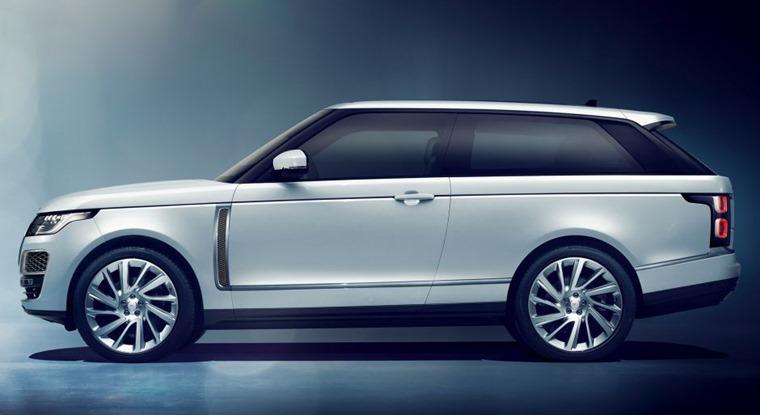 Range Rover SV side