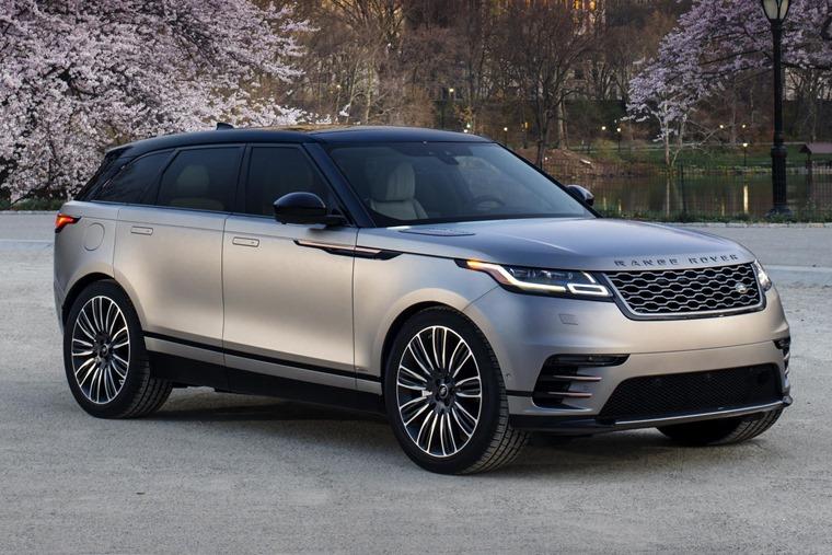 Range Rover Velar business car 2018