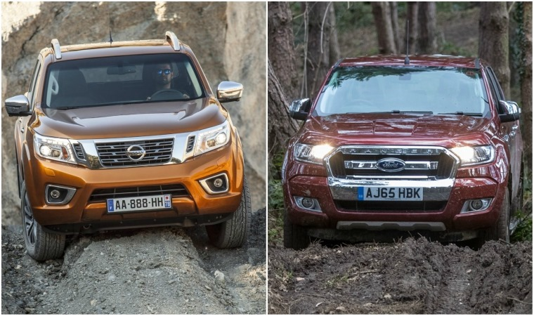 Nissan Navara vs Ford Ranger
