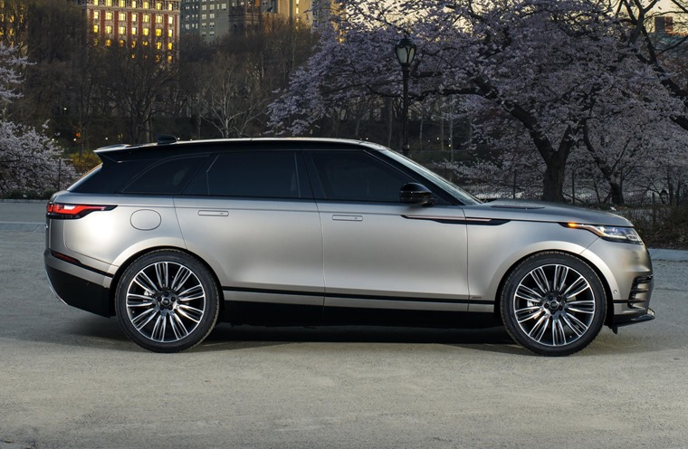 Range Rover's latest Velar will be on show ahead of the first ones hitting the road later this summer.