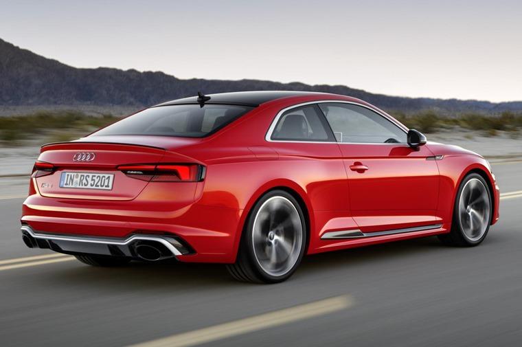 Audi RS 5 2017 rns