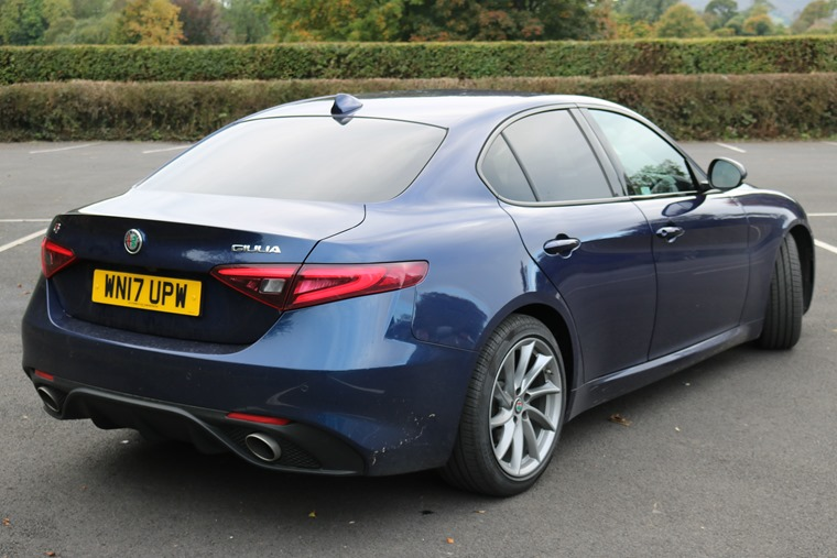 Alfa has finally pulled it out the bag and made a saloon car that can mix it with the German competition.