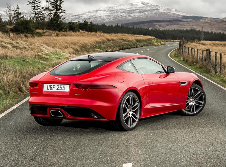 You can get your hands on a V6 or V8 F-Type now, but you'll have to wait a while if you want the new turbocharged 4cyl model.