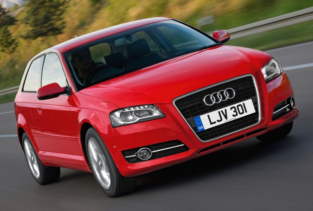 Audi A Named Most Popular Public Sector Car - Audi car red