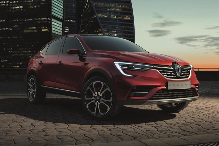 Renault Arkana front