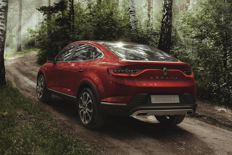 Renault Arkana rear