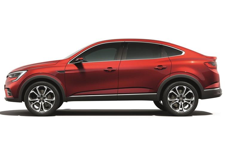 Renault Arkana side profile