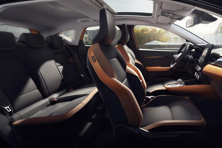 Renault Captur space