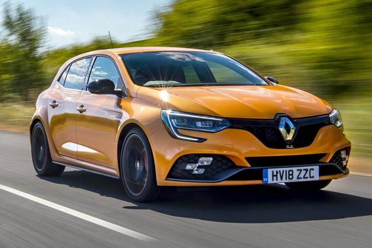 Renault Megane RS front