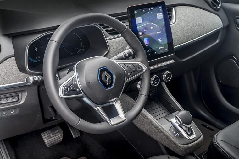 Renault Zoe 2020 interior