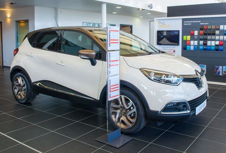 New car finance grew by 13% in value in the year up to November 2016.