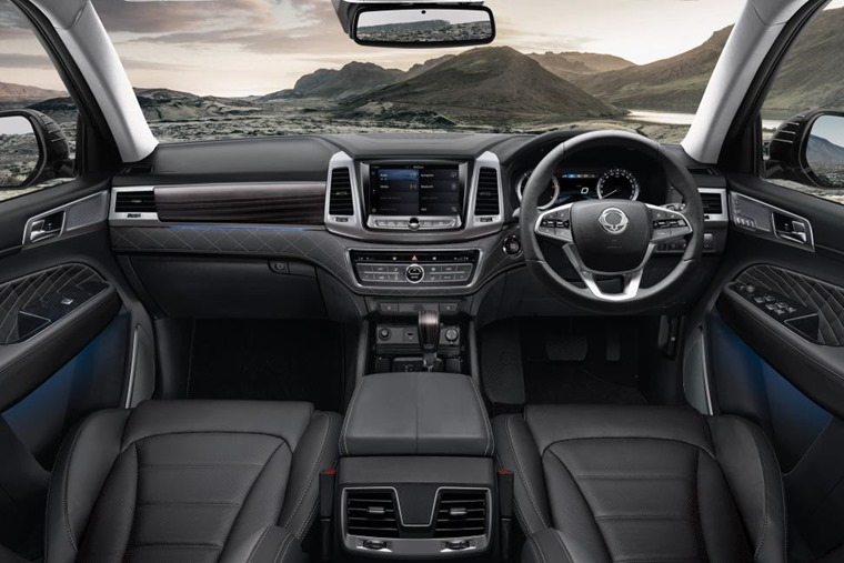 A much-improved interior brings the Rexton up to scratch with some key rivals.