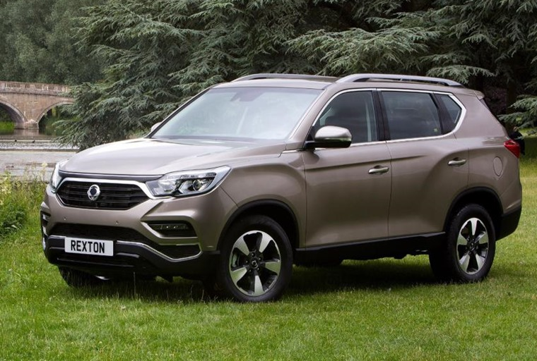 Ssangyong Rexton will be availble from October.