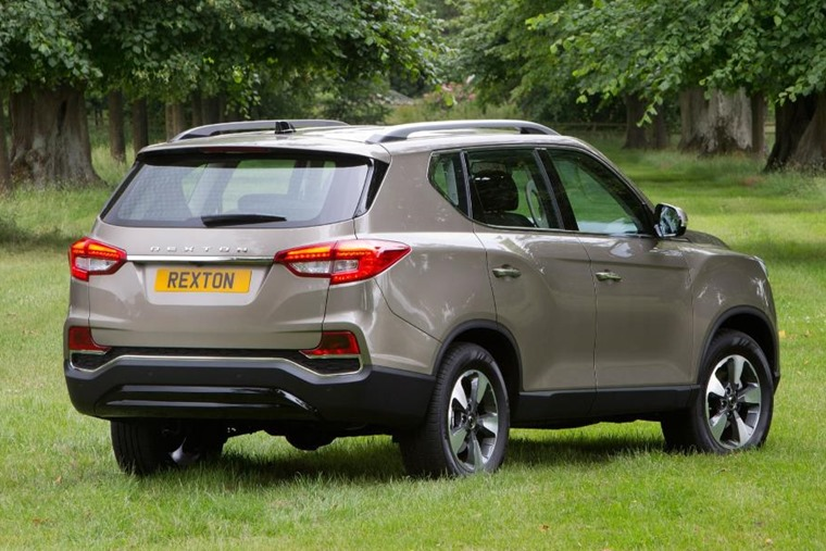 New Ssangyong Rexton rear