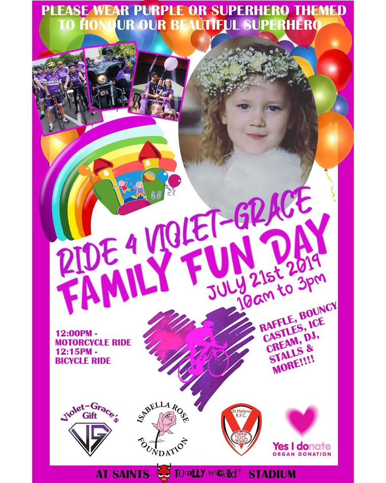 Ride for Violet Grace