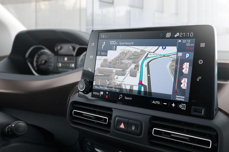 Peugeot Rifter infotainment