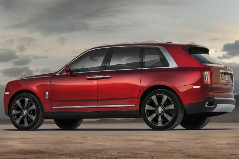 Rolls Royce Cullinan side