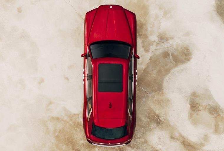 Rolls Royce Cullinan top