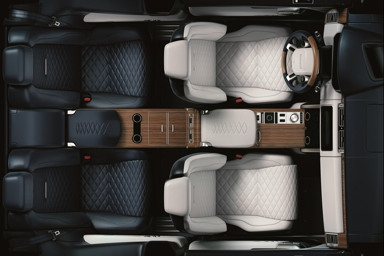 Range Rover SV Geneva Motor Show 2018