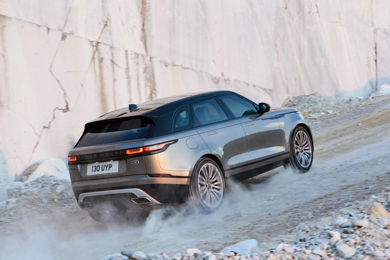 Range Rover Velar Uphill Approach Angle