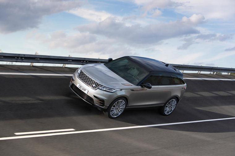 Range Rover Velar Traction