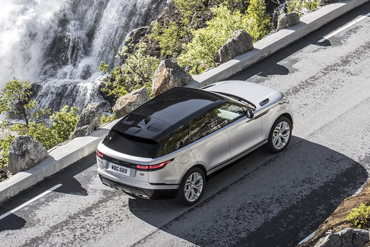 Range Rover Velar top down