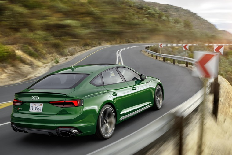 Audi RS5 Sportback debuts