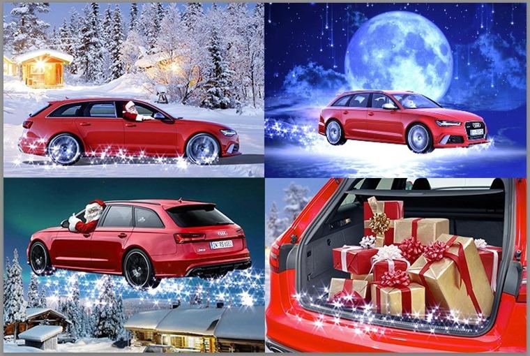 Santa RS6 Avant montage