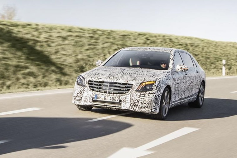 Mercedes S-Class may look rather reserved, but it's brimming with new tech.