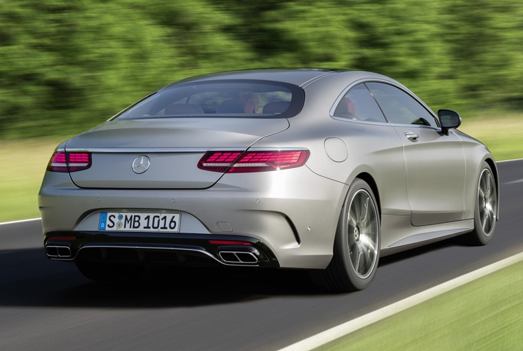 New rear lights, fresh alloys and extra chrome trim are among the few external tweaks on non-AMG models.