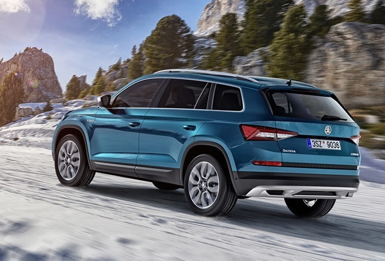 Skoda's Kodiaq gets some off-road cache thanks to the upcoming Scout.