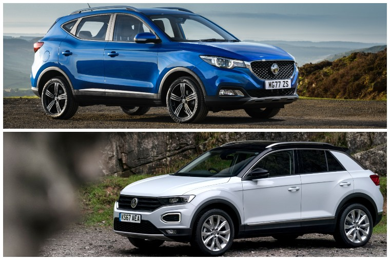 Should you buy an MG or lease a VW T-Roc_