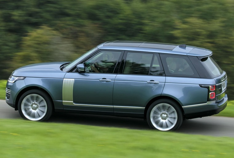 Engines have been carried over, although the sueprcharged 5.0-litre V8 Autobiography gets a power boost.