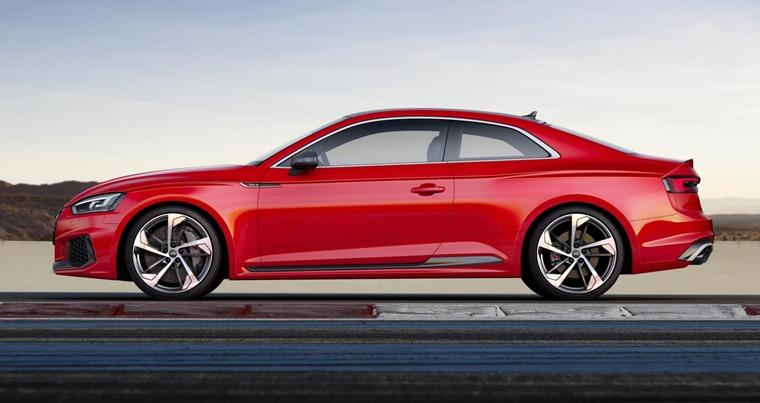 2017 Audi RS 5 side