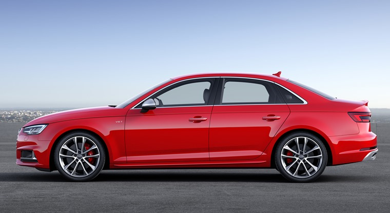Audi S4 side