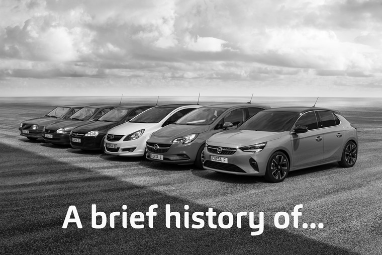 Vauxhall Corsa brief history