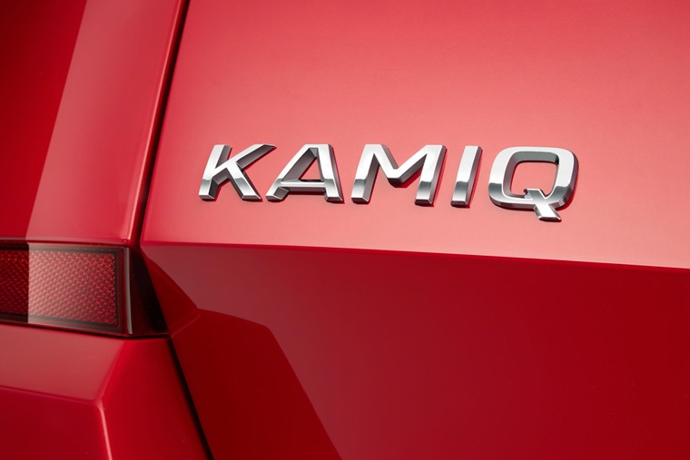 Skoda Kamiq badge